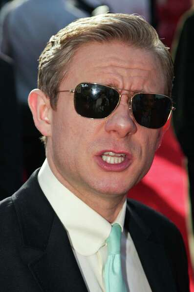 WELLINGTON, NEW ZEALAND - NOVEMBER 28:  Martin Freeman arrives at the