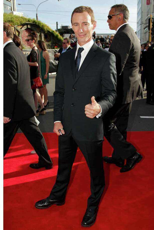 """WELLINGTON, NEW ZEALAND - NOVEMBER 28:  Jed Brophy, who plays Nori, arrives at the """"The Hobbit: An Unexpected Journey"""" World Premiere at Embassy Theatre on November 28, 2012 in Wellington, New Zealand.  (Photo by Hagen Hopkins/Getty Images) Photo: Hagen Hopkins, Getty Images / 2012 Getty Images"""