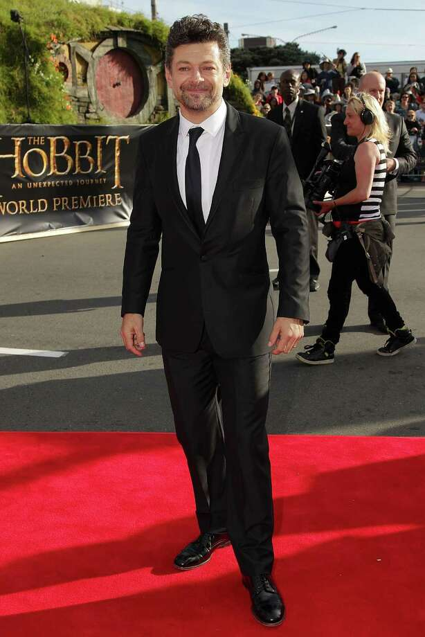 "WELLINGTON, NEW ZEALAND - NOVEMBER 28:  Andy Serkis, who plays Gollum, arrives at the ""The Hobbit: An Unexpected Journey"" World Premiere at Embassy Theatre on November 28, 2012 in Wellington, New Zealand.  (Photo by Hagen Hopkins/Getty Images) Photo: Hagen Hopkins, Getty Images / 2012 Getty Images"