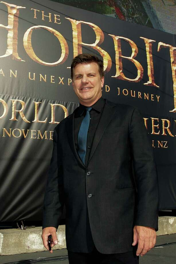 "WELLINGTON, NEW ZEALAND - NOVEMBER 28:  CEO of RealD Michael V. Lewis arrives at the ""The Hobbit: An Unexpected Journey"" World Premiere at Embassy Theatre on November 28, 2012 in Wellington, New Zealand.  (Photo by Hagen Hopkins/Getty Images) Photo: Hagen Hopkins, Getty Images / 2012 Getty Images"