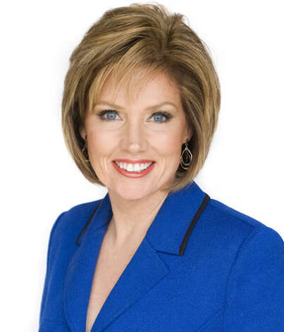 KENS' 4 p.m. anchorwoman Deborah Knapp went head-to-head with a solo Ursula Pari on KSAT -- and was victorious. (KENS photo)