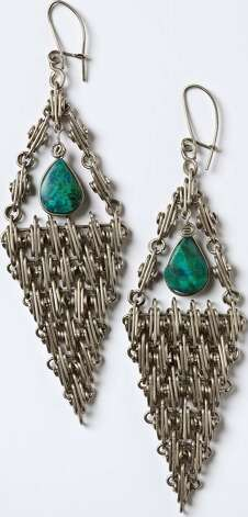Silver-wire-wrapped jewelry by Daniel Jara, a Peruvian artisan living in Wisconsin, will be featured at the 2012 edition of Hecho a Mano. Courtesy Guadalupe Cultural Arts Photo: Courtesy Guadalupe Cultural Arts