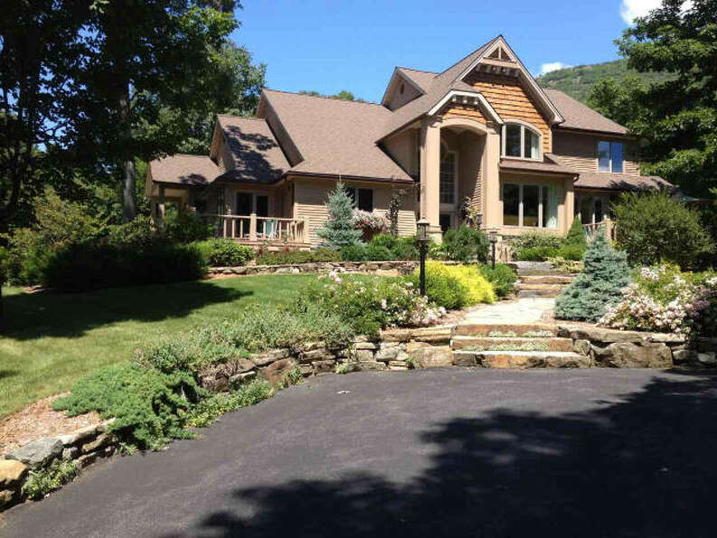Five bedroom, three bath mountain lake estate on 1358 Pilot Knob Road in Fort Ann, $10 million,