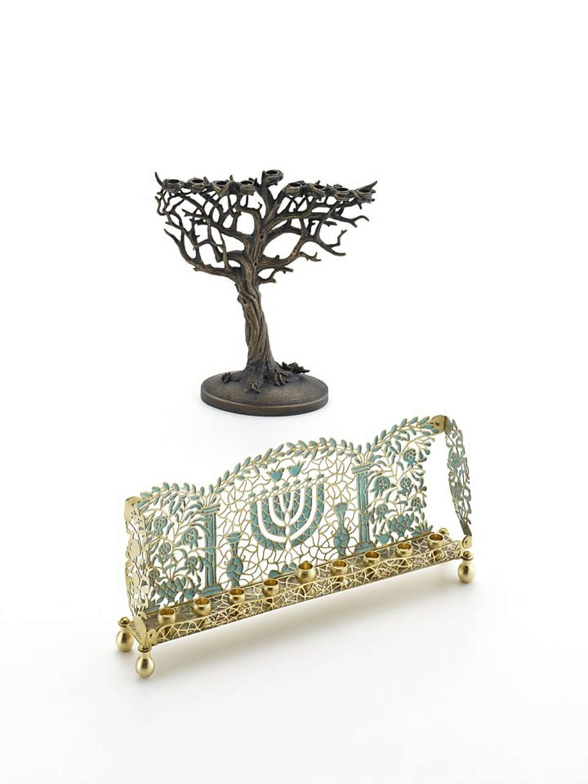 Abraham's Menorah, by Forgotton Judaica. Available at the Contemporary Jewish Museum in San Francisco.