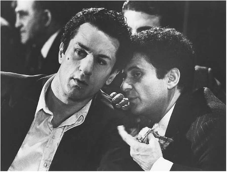 "Bobby and Joe in ""Raging Bull"""