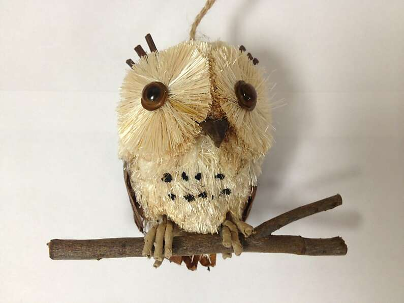 Owl's are all the rage this year. Owl ornament from West Elm ($6)