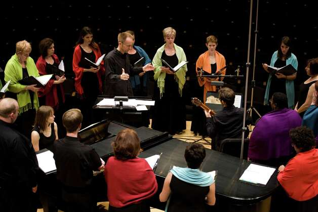 The Conspirare vocal ensemble will perform in San Antonio on Dec. 7. Photo: Courtesy, John R. Lewis