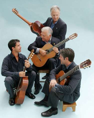 Arts San Antonio will present the Romeros classical guitar ensemble. Courtesy Mark Johnson Photo: Courtesy Mark Johnson