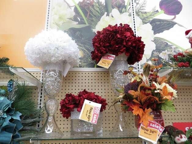Handcrafted floral arrangements are available at Michaels. Photo: Jennifer Rodriguez, For The Express-News