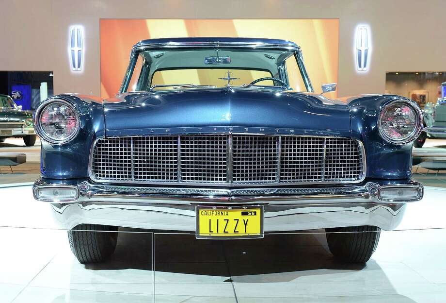 LOS ANGELES, CA - NOVEMBER 28:  1956 Continental Mark II appears as part of Lincoln's Heritage On Display At Los Angeles Auto Show Press Day at Los Angeles Convention Center on November 28, 2012 in Los Angeles, California. Photo: Michael Kovac, Getty Images For Lincoln / 2012 Getty Images