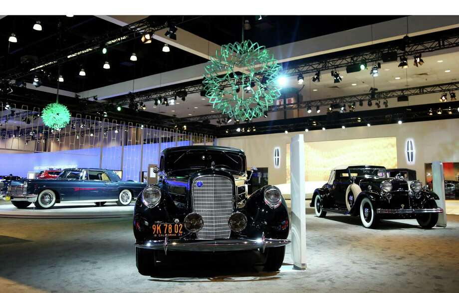 Lincoln's Heritage on Display is seen during the Los Angeles Auto Show press day, Wednesday, Nov. 28, 2012 in Los Angeles. (Photo by Matt Sayles/Invision for Lincoln/AP Images).  (PRNewsFoto/Lincoln) Photo: Associated Press / LINCOLN
