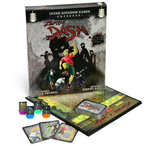 Zombie Dash board game by Inner Kingdom Games. San Antonio's Peter Trudell developed the game, where players must outrun zombies. Photo: Handout