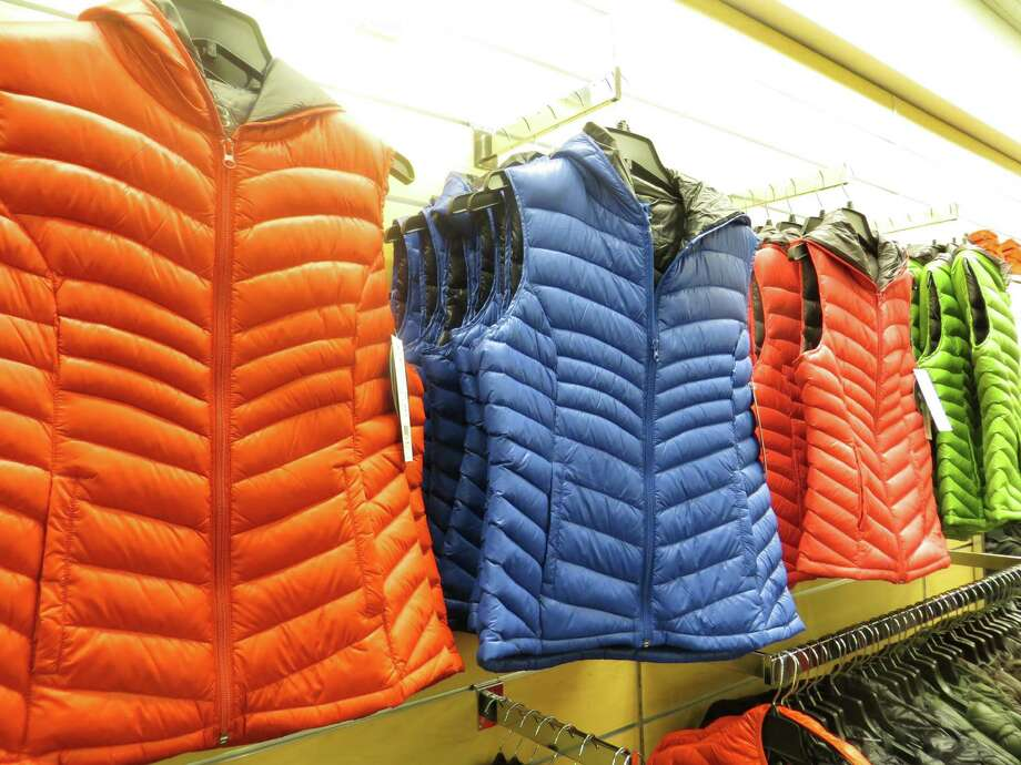 Miss Sixty vests, $39.97, are also available as jackets, $59.97, at Nordstrom Rack. Photo: Jennifer Rodriguez, For The Express-News