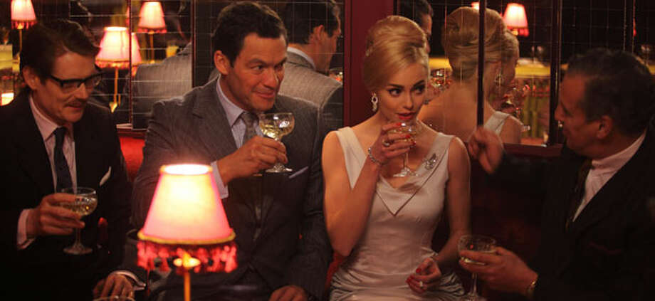 Hector (Dominic West) has an ill-fated tryst with nightclub star Kiki (Hannah Tointon) in second season of 'The Hour (BBC America)