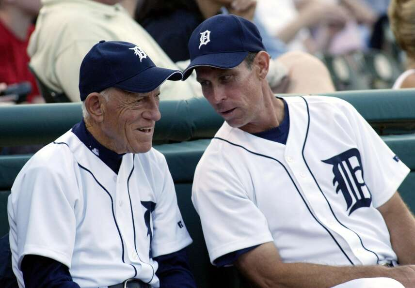 Alan Trammell (right) (Rick Fowler / Associated Press)