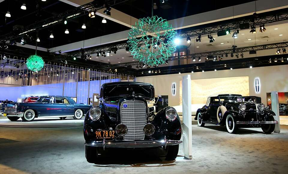 Lincoln's Heritage on Display is seen during the Los Angeles Auto Show press day, Wednesday, Nov.