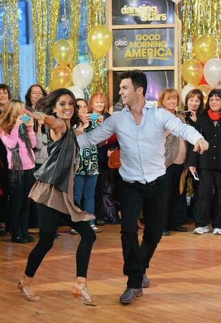 NE'Dancing With The Stars: All Stars' winners Melissa Rycroft and Tony Dovolani perform on ABC's Good Morning America at ABC News' Good Morning America Times Square Studio on November 28, 2012 in New York City. Photo: Slaven Vlasic, Slaven Vlasic/Getty Images / 2012 Getty Images
