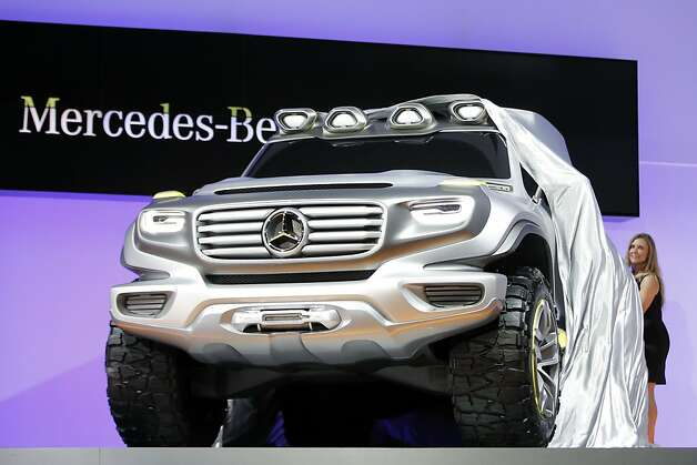 The Mercedes-Benz Ener-G-Force concept is introduced at the LA Auto Show in Los Angeles, Wednesday, Nov. 28, 2012. The annual Los Angeles Auto Show opened to the media Wednesday at the Los Angeles Convention Center. The show opens to the public on Friday, November 30. Photo: Jae C. Hong, Associated Press