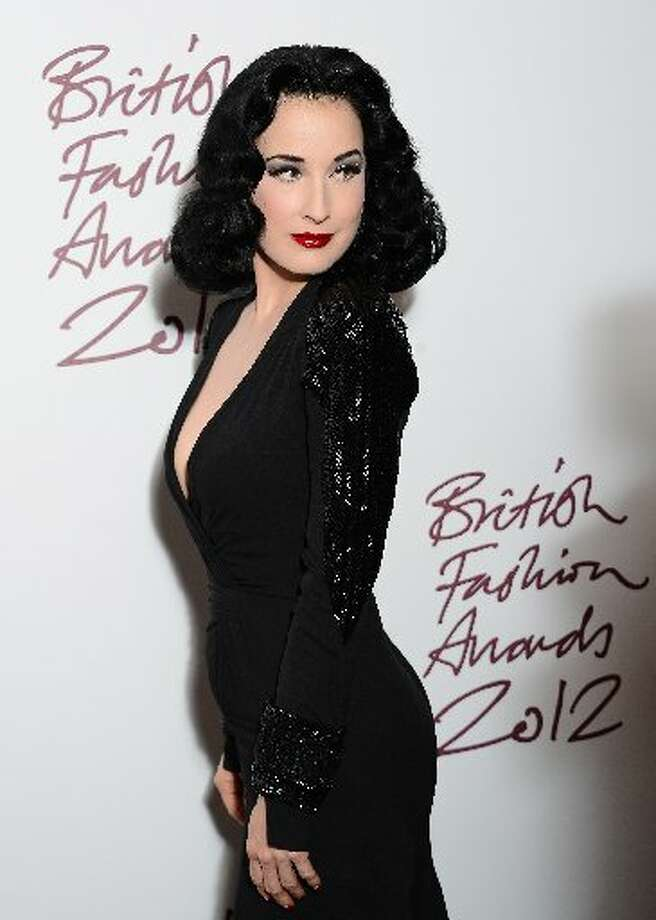 Dita Von Tesse attends the British Fashion Awards 2012 at The Savoy Hotel on November 27, 2012 in London, England. (Photo by Ian Gavan/Getty Images) (Getty)