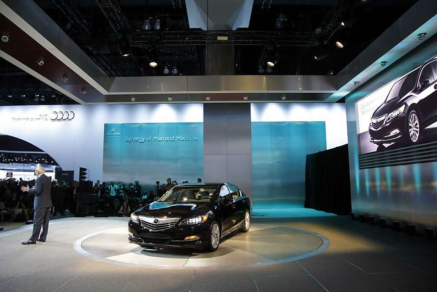 The Acura RLX is introduced at the LA Auto Show in Los Angeles, Wednesday, Nov. 28, 2012. The annual