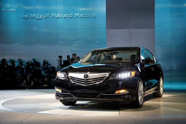 The Acura RLX is introduced at the LA Auto Show in Los Angeles, Wednesday, Nov. 28, 2012. The annual Los Angeles Auto Show opened to the media Wednesday at the Los Angeles Convention Center. The show opens to the public on Friday, November 30. Photo: Jae C. Hong, Associated Press