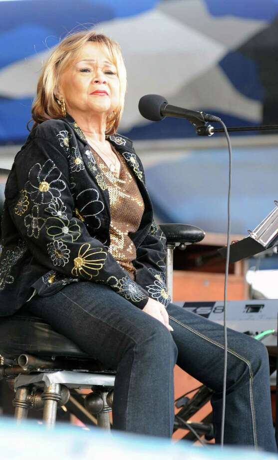 "Etta James, 73, died Jan. 20 of leukemia. The American singer was best known for the wedding standard ""At Last."" Photo: Rick Diamond, Getty Images / 2009 Getty Images"