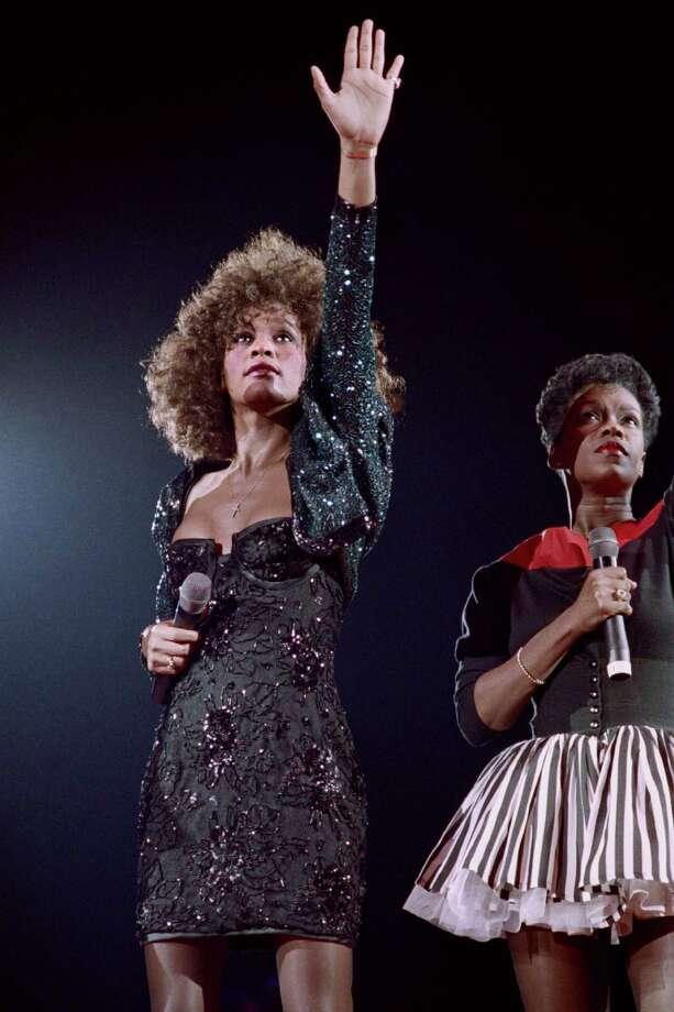 "Whitney Houston, 48, died Feb. 11. A singer and actress, Houston's fame peaked with ""The Bodyguard,"" a film in which she played opposite Kevin Costner. Photo: BERTRAND GUAY, AFP/Getty Images / 2012 AFP"