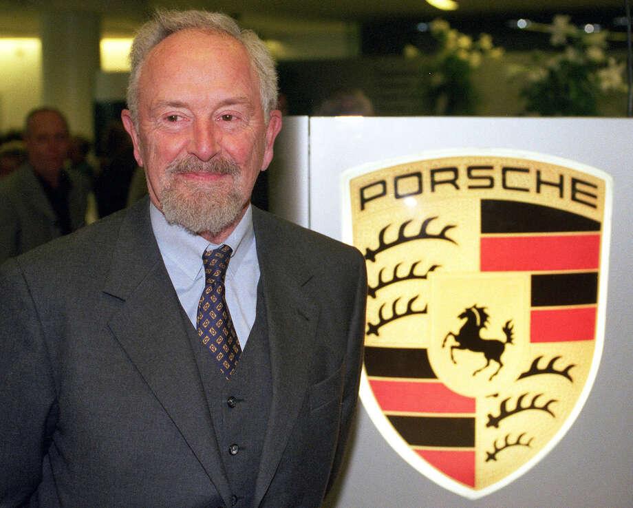 Ferdinand Alexander Porsche, 76, died April 5. Porsche designed the sports cars that bear his name. Photo: BERND WEISSBROD, AFP/Getty Images / 2012 AFP