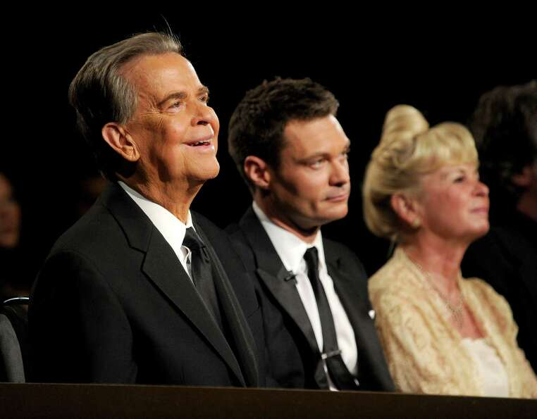 "Dick Clark, 82, died April 18. The longtime face of ""American Bandstand,"" Clark also counted dow"