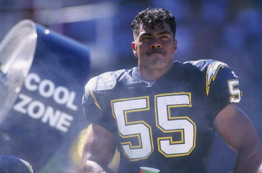 Junior Seau, 43, died May 2 of a self-inflicted gunshot wound. Seau was an NFL superstar who is best remembered for his time with the San Diego Charges, Miami Dolphins and New England Patriots. Photo: J.D. Cuban, Getty Images / Getty Images North America