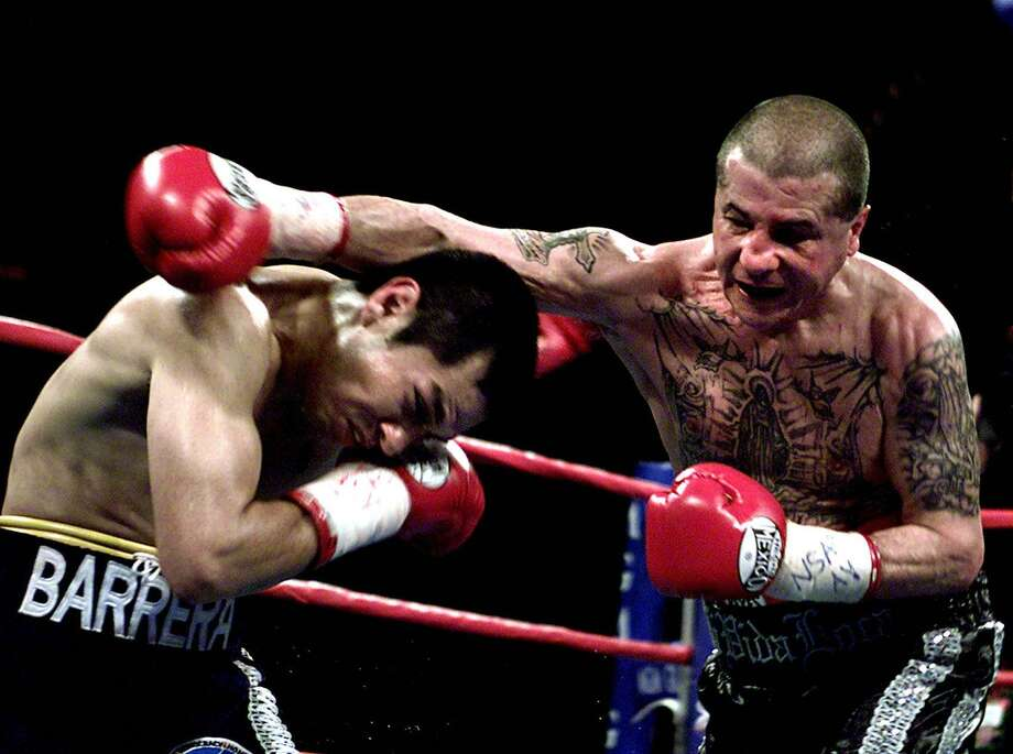 Johnny Tapia, 45, died May 27. The former world champion boxer was found dead in his Albuquerque home. Photo: JOHN GURZINSKI, AFP/Getty Images / AFP