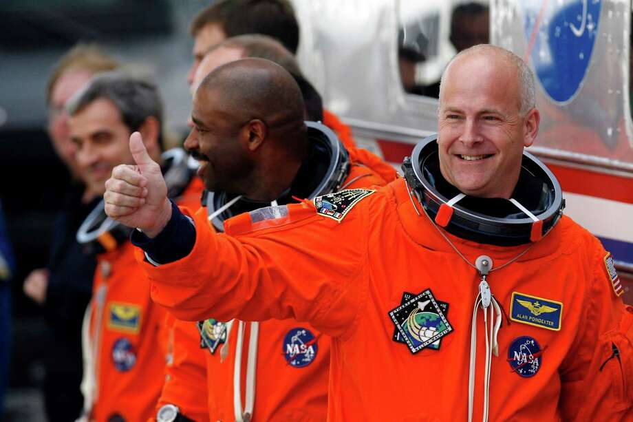 Alan G. Poindexter, 50, died July 1 in a jet ski accident. Poindexter was a Navy pilot and NASA astronaut who participated in several shuttle missions. Photo: Eliot J. Schechter, Getty Images / 2008 Getty Images