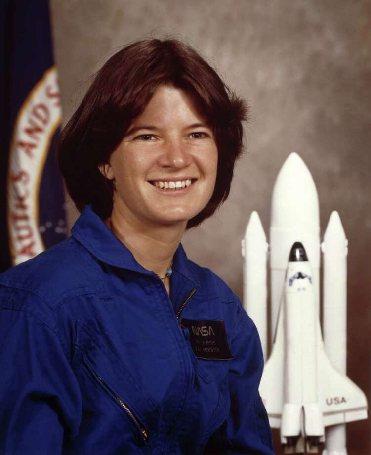Sally Ride, 61, died July 23. Ride was the first American woman in space.   (Photo provided through Getty Images) Photo: -, AFP/Getty Images / 2010 AFP