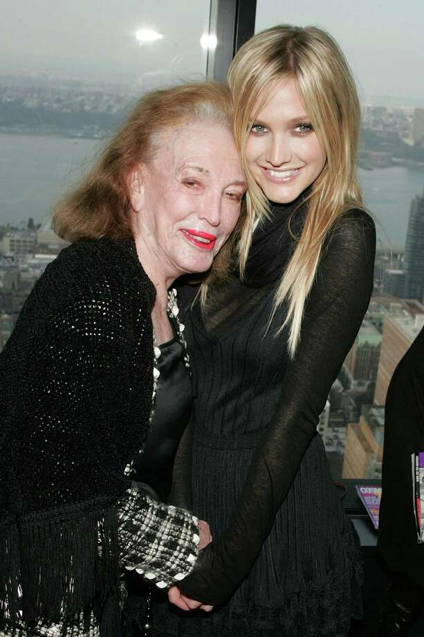 Helen Gurley Brown, 90, died Aug. 13. The author, publisher, and businesswoman reinvented Cosmopolitan magazine as its editor-in-chief from 1965 until 1997. Pictured above with singer Ashlee Simpson. (Photo by Bryan Bedder/Getty Images) Photo: Bryan Bedder, Getty Images / 2007 Getty Images
