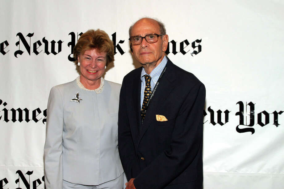 Arthur Ochs Sulzberger, 86, died Sept. 29. He published The New York Times. (Photo by Bowers/Getty Images) Photo: Bowers, Getty Images / 2004 Getty Images