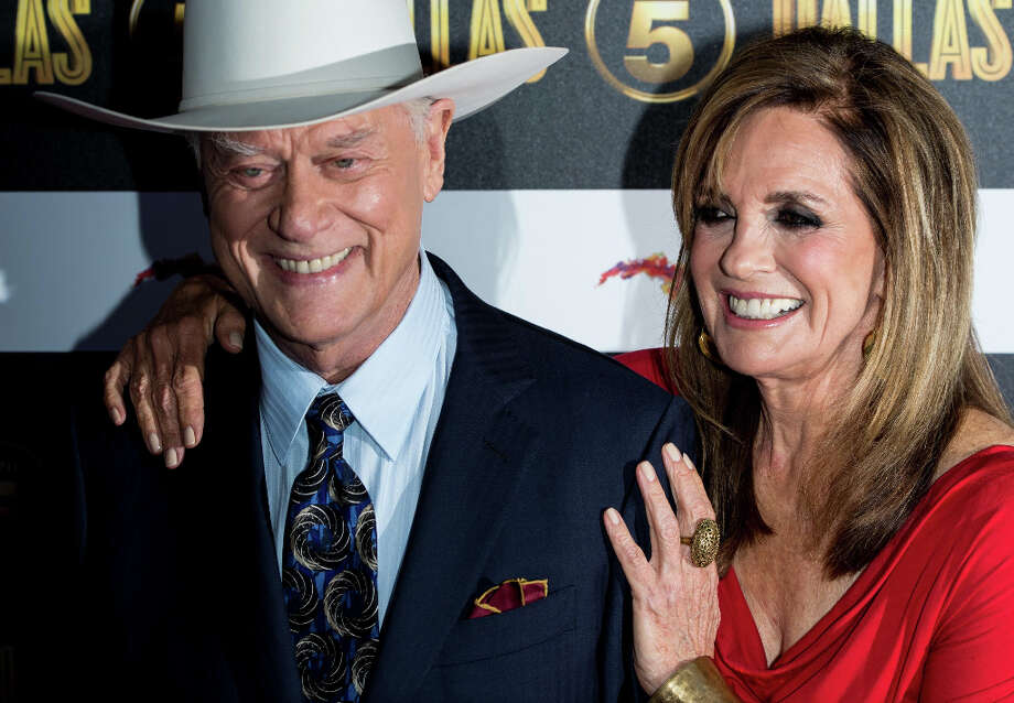 "Actor Larry Hagman, 81, died Nov. 23 from throat cancer. Hagman was best known for his roles in ""Dallas"" and ""I Dream of Jeanie.""(Photo by Ian Gavan/Getty Images) Photo: Ian Gavan, Getty Images / 2012 Getty Images"
