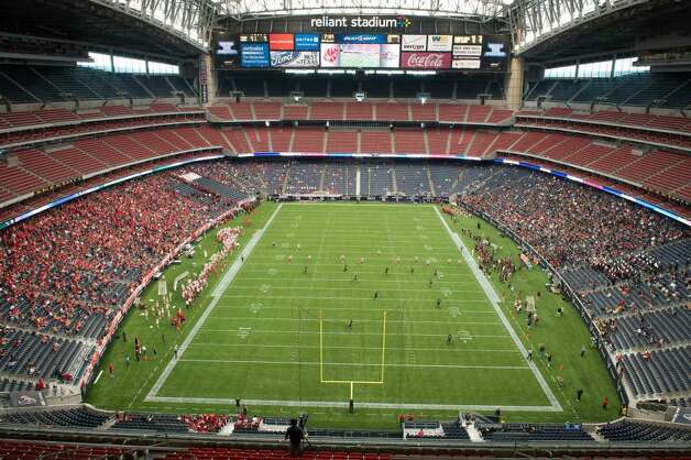 Build your own football stadium. It cost $449 million to build Reliant Stadium. Now, you can build your own big-time football venue. (Photo By Smiley N. Pool/ Houston Chronicle)