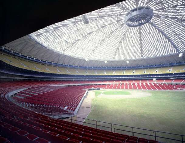 And where better to have Kim Kardashian host than at the biggest party ever. While it will cost an estimated $600 million to renovate the Astrodome, you could probably afford to rent it and throw the biggest party of all time.  (Handout photo)