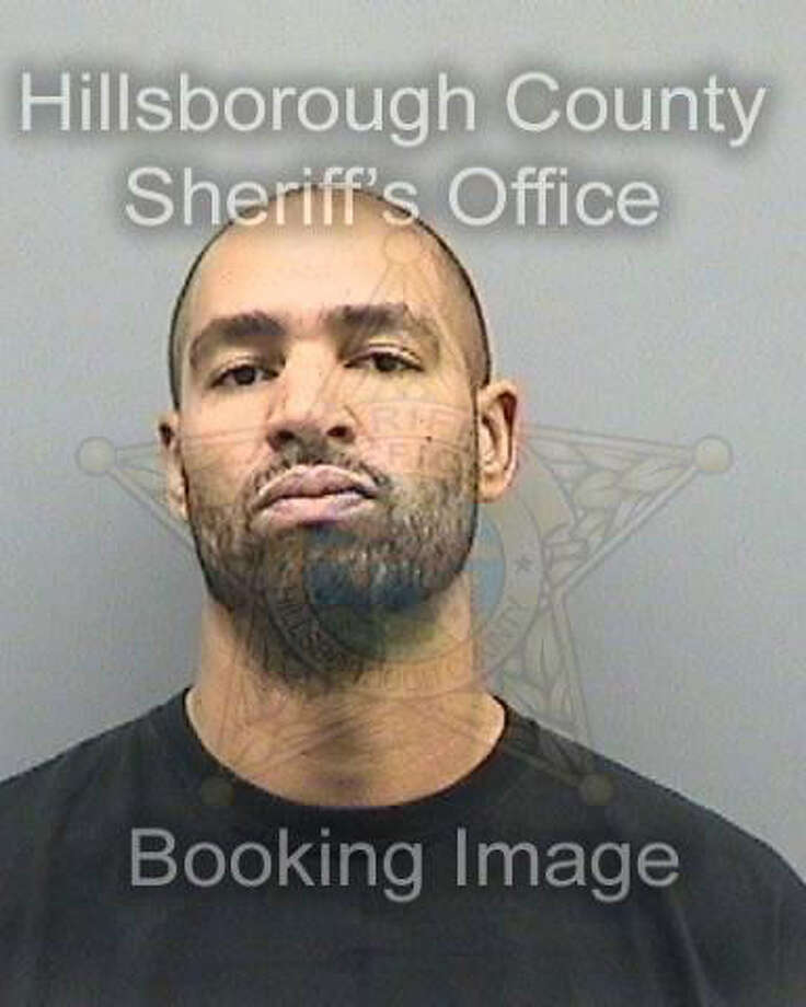 Booking photo for Jerramy Stevens on Nov. 28, 2012, in Tampa, Fla. Photo: Hillsborough County Sheriff's Office / Hillsborough County Sheriff's Office