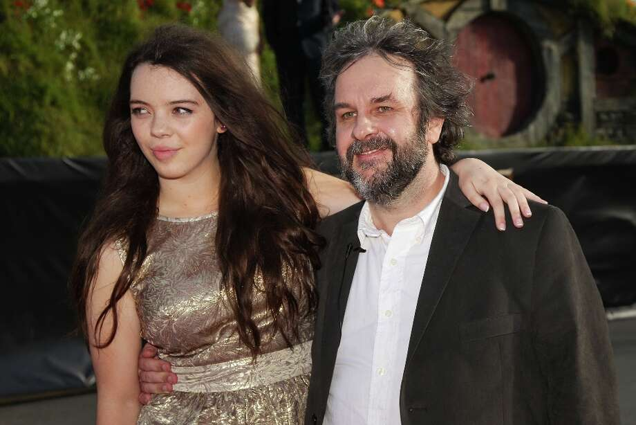 Director Sir Peter Jackson and  daughter Katie arrive at the The Hobbit: An Unexpected Journey World Premiere at Embassy Theatre on November 28, 2012 in Wellington, New Zealand.  (Photo by Hagen Hopkins/Getty Images) Photo: Hagen Hopkins, Getty Images / 2012 Getty Images