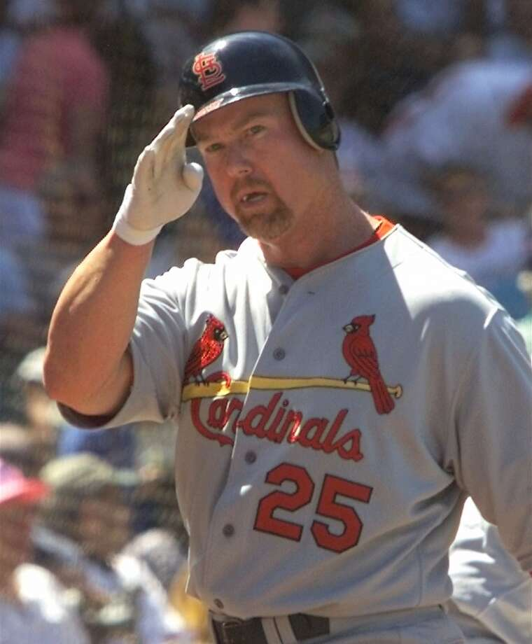 Former St. Louis Cardinals and Oakland Athletics player Mark McGwire is another slugger who could be kept out of the Hall of Fame because of reports of performance enhancing drugs.