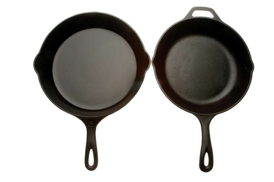 One of the hottest items on cooks' holiday lists this year is one of the oldest types of cookware around: cast iron. But today's skillets aren't necessarily the same as your grandmother's. (Kirk McKoy/Los Angeles Times/MCT) Photo: Kirk McKoy / Los Angeles Times