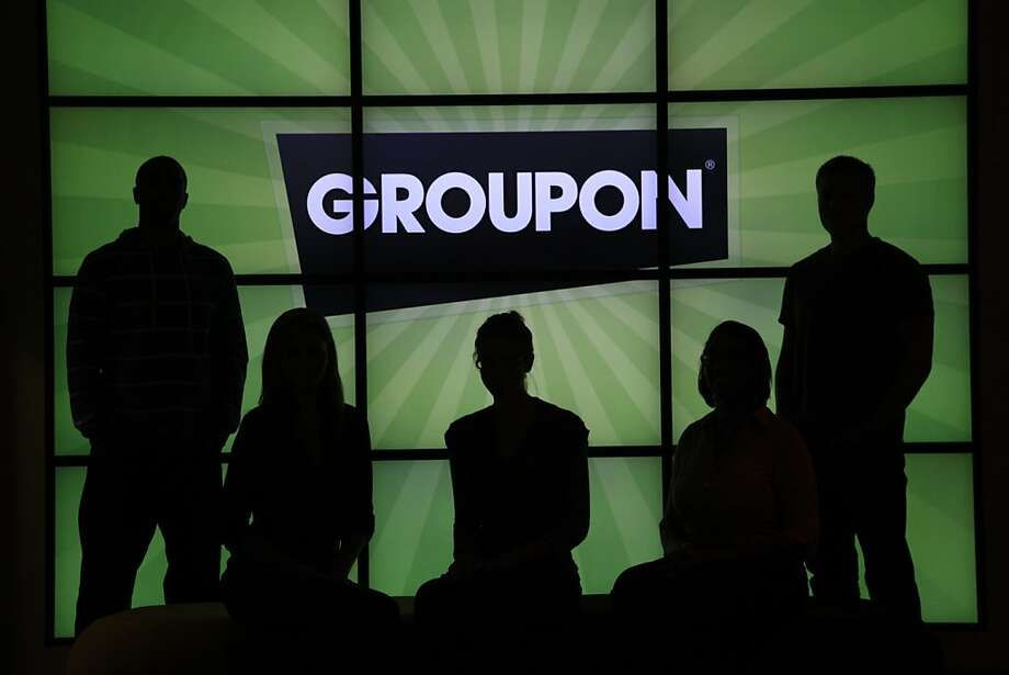 Groupon's market value has slid to $3.3 billion now that the daily deal novelty has worn off. Photo: Charles Rex Arbogast, Associated Press