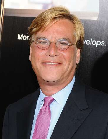 Aaron Sorkin takes a lot of heat for HBO's The Newsroom. GQ is not a fan.   (Photo by Angela Weiss/Getty Images) Photo: Angela Weiss, Getty Images / 2012 Getty Images
