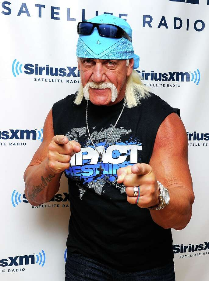 Hulk Hogan. And his sex tape.  (Photo by Andrew H. Walker/Getty Images) Photo: Andrew H. Walker, Getty Images / 2011 Getty Images