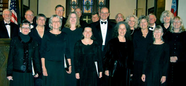 The 2012 edition of the Kent Singers, shown here in April, is celebrating the group's 40th anniversary this year.  Courtesy of the Kent Singers Photo: Contributed Photo
