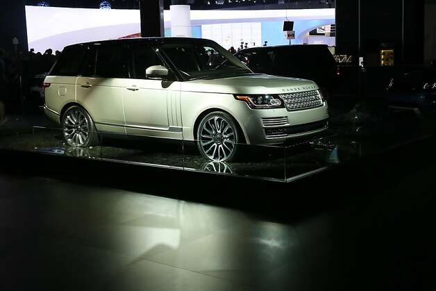 The all-new Range Rover on display at the Jaguar Land Rover stand at the LA Auto Show on November 28, 2012 in Los Angeles, California. Photo: Neilson Barnard, Getty Images For Jaguar Land Rov