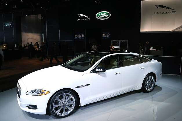 The XJ-L on display at the Jaguar Land Rover stands at the LA Auto Show on November 28, 2012 in Los Angeles, California. Photo: Neilson Barnard, Getty Images For Jaguar Land Rov