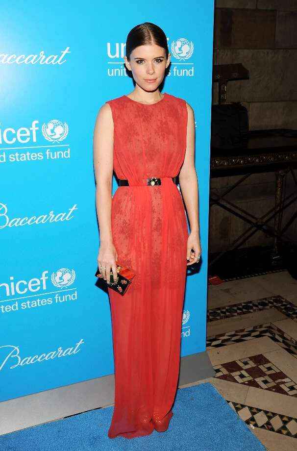 Actress Kate Mara attends the 8th Annual UNICEF Snowflake Ball at Cipriani 42nd Street on Tuesday Nov. 27, 2012 in New York. (Photo by Evan Agostini/Invision/AP) Photo: Evan Agostini, Associated Press / Invision