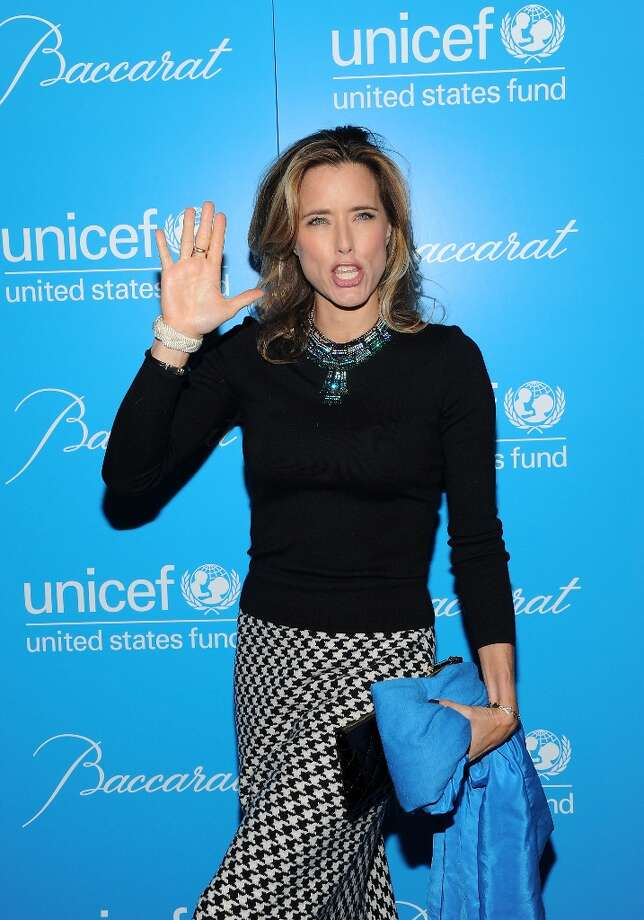 Actress Tea Leoni attends the 8th Annual UNICEF Snowflake Ball at Cipriani 42nd Street on Tuesday Nov. 27, 2012 in New York. (Photo by Evan Agostini/Invision/AP) Photo: Evan Agostini, Associated Press / Invision